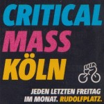 Sticker der Critical Mass Köln
