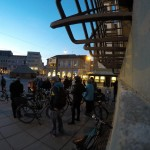 Critical Mass Augsburg im Februar 2016