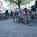 Critical Mass Berlin im April 2016